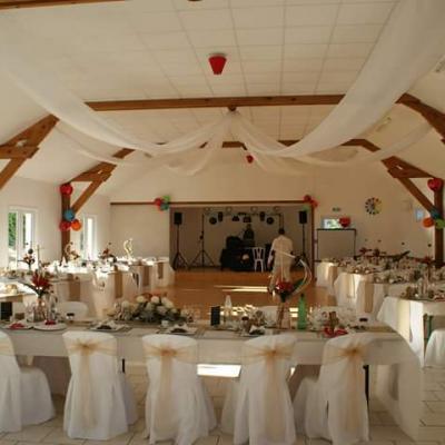 La salle pour un autre mariage en 2017