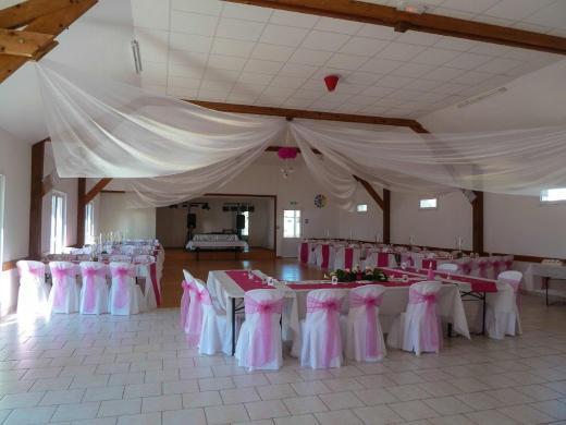 La salle pour un mariage, le 3 septembre 2016