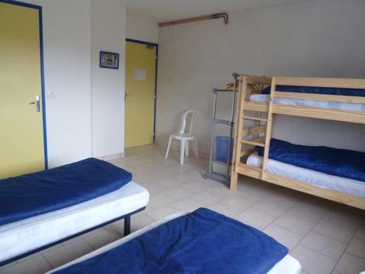 Chambre Blois avec 4 couchages à l'étage