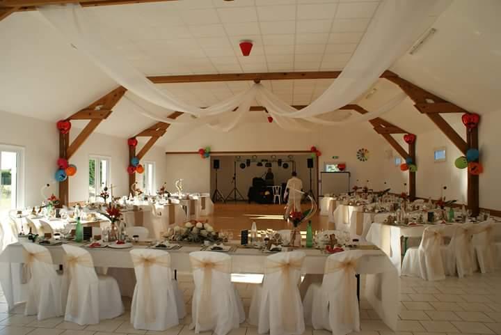 La salle pour un mariage en 2017